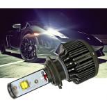 Авто лампы светодиодные Н7 30W (мощнейшие светодиоды CREE 15Вт 2шт). Яркость 3600Lm/шт. Комплект 2шт.